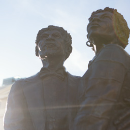 Statue of Harriet and Dred Scott