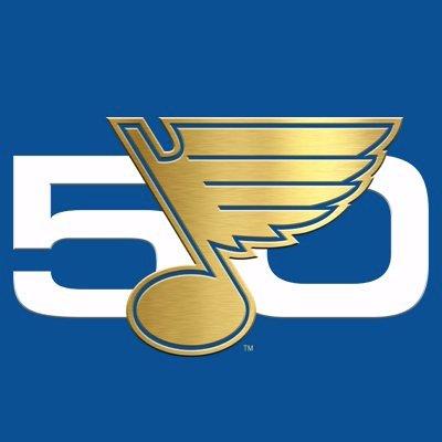 Blues 50th logo