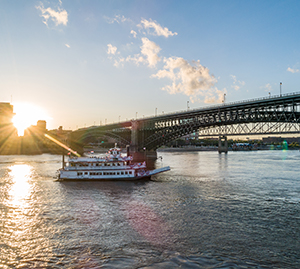 Riverboat Cruising