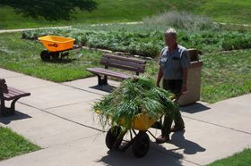 NPS employee from grounds and maintenance staff