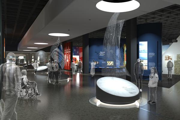 Arch Museum rendering