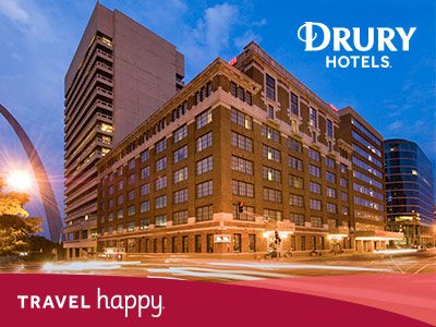 Drury Hotel with logo