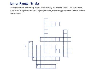 Arch Crossword Puzzle