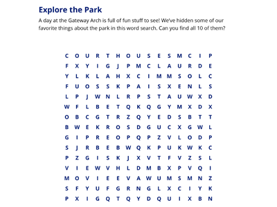 Arch Word Search