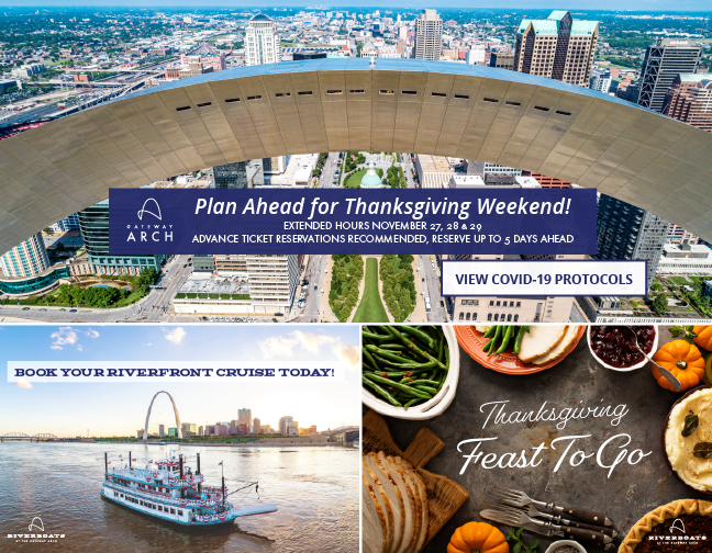 Gateway Arch and Riverboat Events