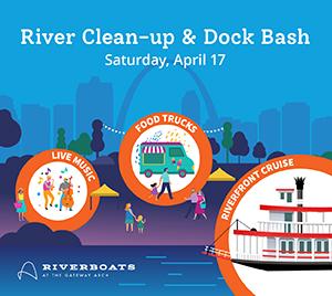 River Clean-Up & Dock Bash Banner